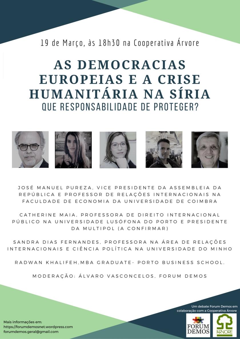 AS DEMOCRACIAS EUROPEIAS E A CRISE HUMANITÁRIA NA SÍRIA (1)