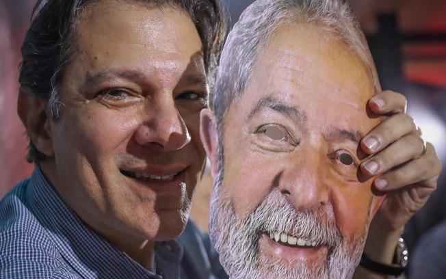 Fernando Haddad e Lula